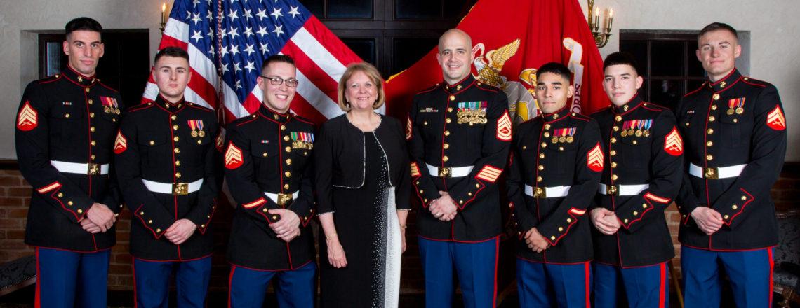 Sekretoriaus Tillerson'o sveikinimas JAV jūrų pėstininkams 242-ojo gimtadienio proga