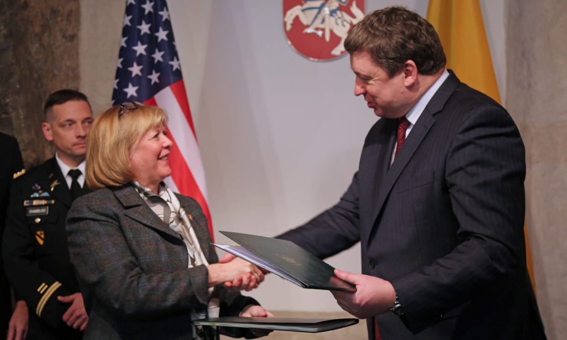 United States And Lithuania Signed Defense Cooperation Agreement
