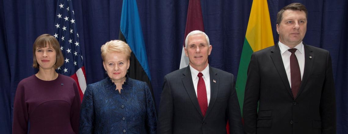 VP Pence Meets Baltic Leaders