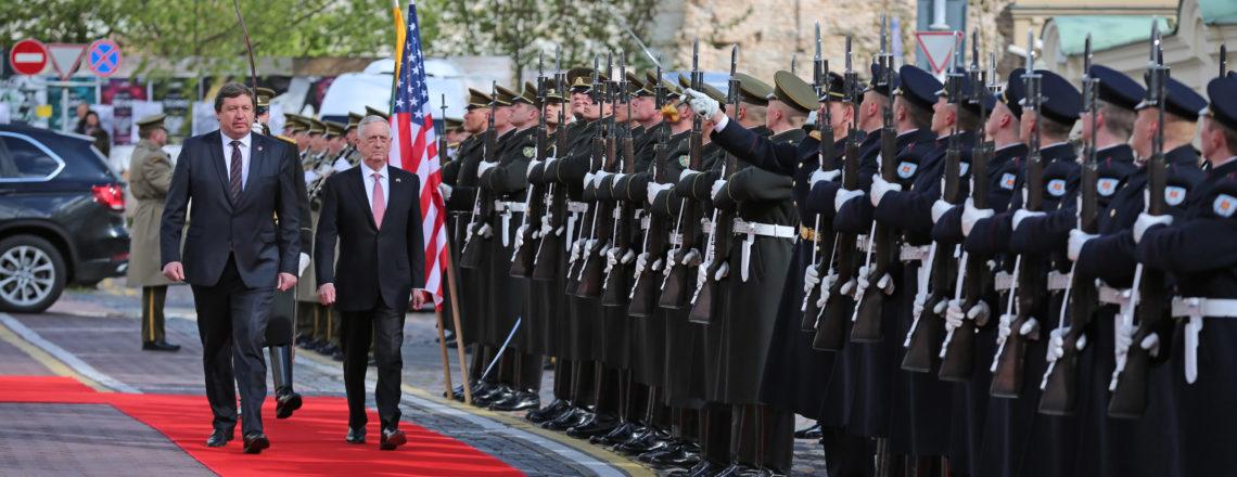Secretary of Defense Jim Mattis visits Lithuania
