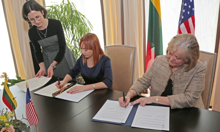 Signing Ceremony of the Fulbright Memorandum of Understanding