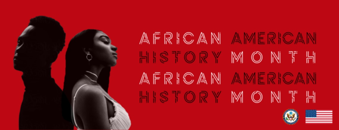 February in the United States is African American History Month